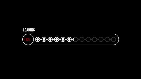 Loading Bar Video 04 CG動画