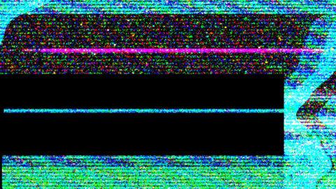 VHS Glitch Transition 01 Animation