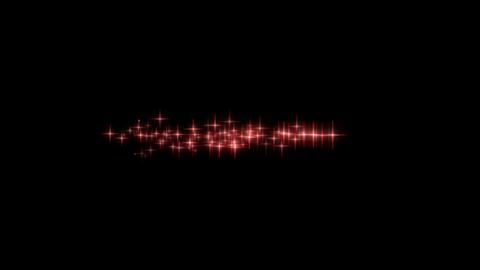 パーティクル03-赤色 CG動画