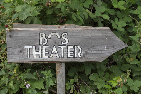Billboard Bos Theater At The Amsterdamse Bos At Amstelveen The Netherlands 19-7-2020 フォト