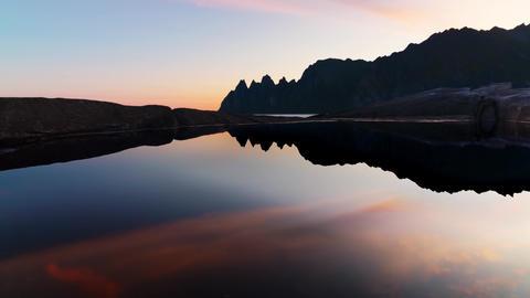 Timelapse of Norway Beautiful Places Sightseeing Sunset Sunrise Scenery 2 Live Action