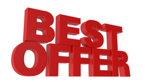 Best Offer Animated 3D Text Videos animados