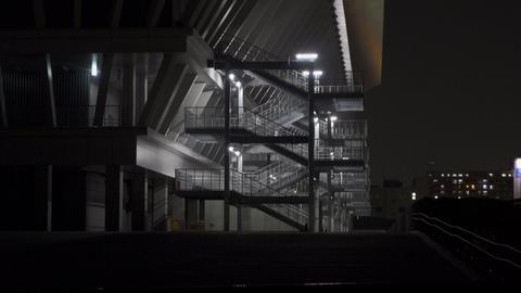 Tokyo Aquatics Center Night View019 Live Action