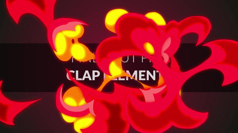 Clap Elements (Final Cut Pro) Apple Motion Template