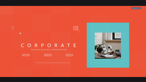 Corporate Presentation Plantilla de After Effects