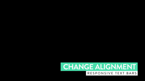 Responsive Lower Third Motion Graphics Template