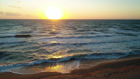 Sea Waves on the Beautiful Morning Sea 2 Live Action