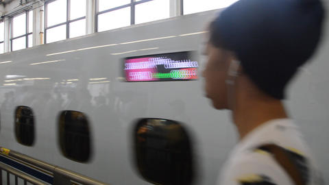 Kyushu West Shinkansen At Hiroshima Japan 2016 ライブ動画