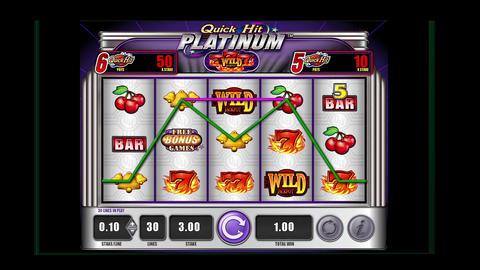 animation - Slot Machine and winner bar Animation