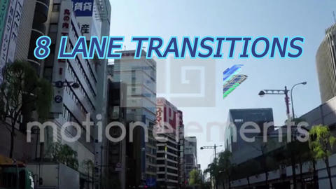 Lane Transitions tu MOGRT Plantillas de Motion Graphics
