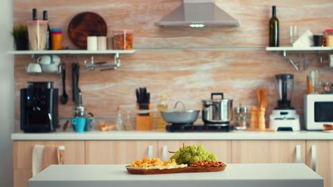 Empty modern kitchen GIF