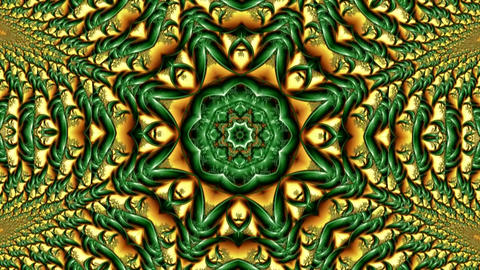 Kaleidoscopic Change Of Various Abstract Ornament