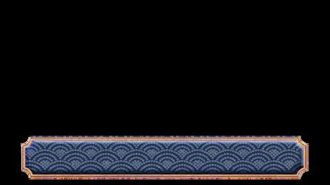 和風ベース ブルー フォト