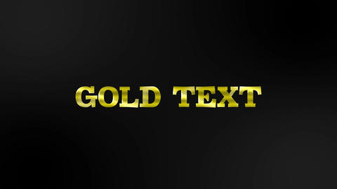 GORD TTEXT Motion Graphics Template