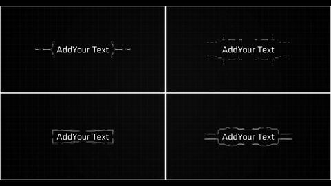 Hi Tech Lower Thirds After Effects Template