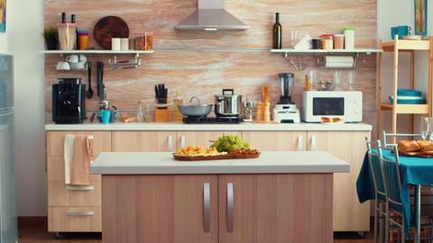 Classic modern kitchen GIF