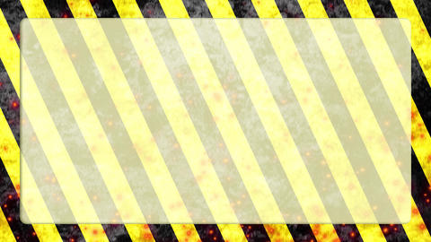 Danger-stripe-fire-background Videos animados