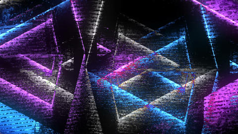 Dynamic Abstract Background Loop Animation