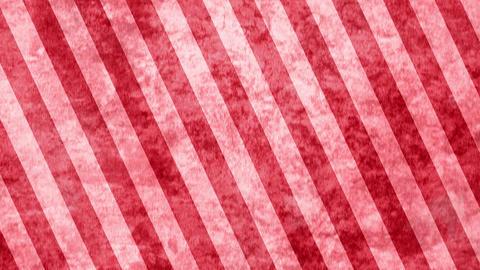 赤 斜めのストライプ 布地 ループ CG動画