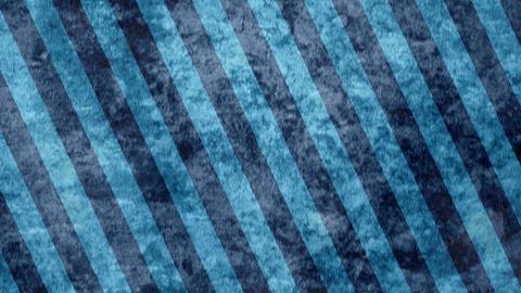 青 斜めのストライプ 布地 ループ CG動画