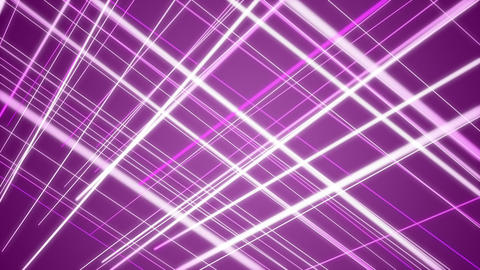 Fantastic video animation with stripe object in motion, loop HD CG動画