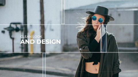Fashion Slideshow Apple Motion Template