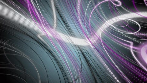 Fantastic video animation with stripe wave object in motion, loop HD Videos animados