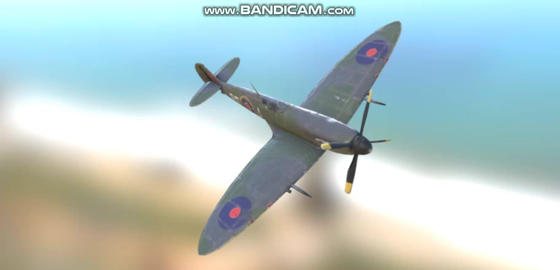 Supermarine Spitfire 3D Model