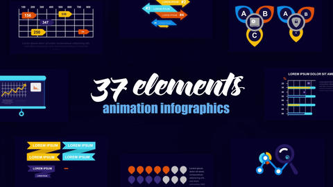 Infographics vol.55 After Effects Template