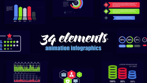 Infographics vol.50 After Effects Template