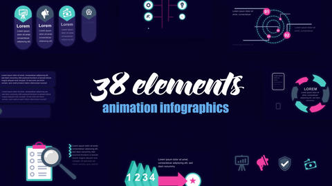 Infographics vol.46 After Effects Template