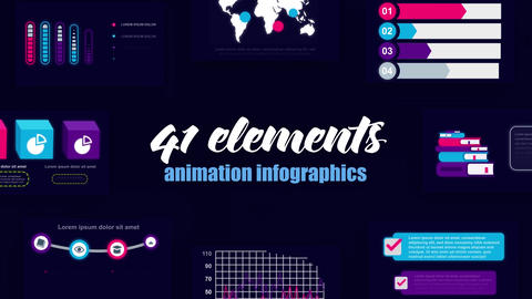 Infographics vol.45 After Effects Template
