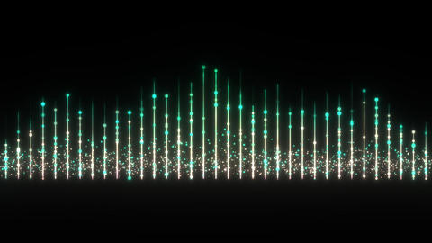 Particle tower Animation