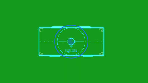 Digital processing motion graphics with green screen background Videos animados