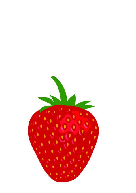 Strawberry logo icon Vector