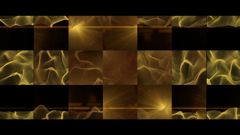 Fantastic video animation with wave object in motion, loop HD Videos animados