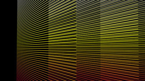 Fantastic video animation with stripe object in motion, loop HD Videos animados