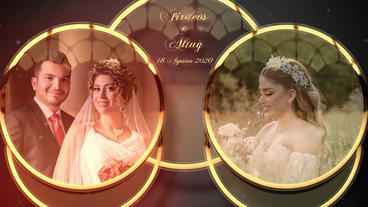 Wedding intro Plantilla de After Effects