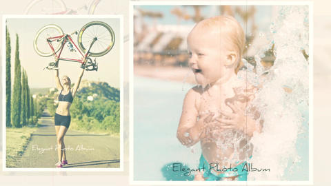 Elegant Photo Album After Effects Template