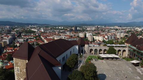 Time lapse of Ljubljana, Slovenija Acción en vivo