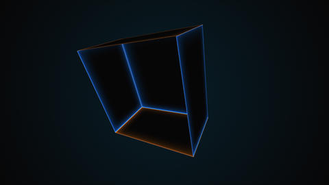 Abstract neon room, computer generated. 3d rendering abstract backdrop with Acción en vivo