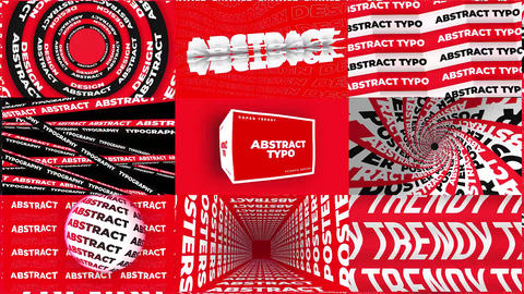 Abstract Typography After Effects Template