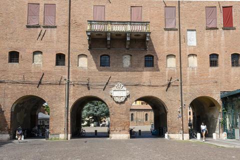Historic palace in Ferrara Photo