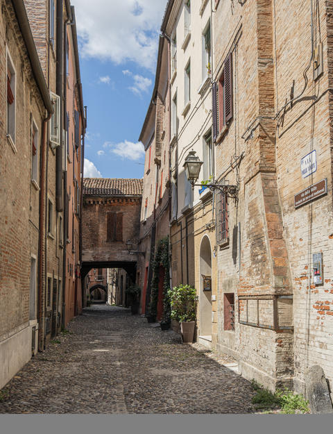 Volte Street in Ferrara Photo