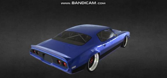 1970 chevrolet camaro 3D Model
