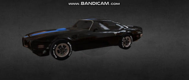 1970 pontiac firebird 3D Model