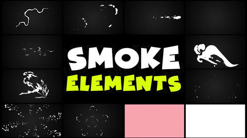 Smoke Elements Pack 05 Motion Graphics Template