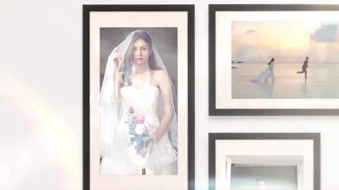 Wedding Photo Collage Premiere Pro Template