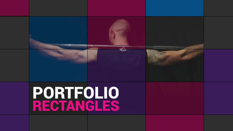 Portfolio Rectangles Apple Motion Template