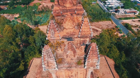 An Old Temple Building In Thailand Live Action